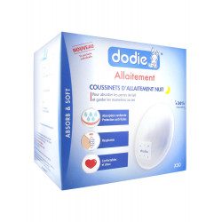 Dodie Breastfeeding 30 Night Breast Pads