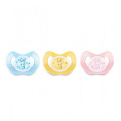 Dodie Pacifier & Soother 0-2 M Pack Of one - Different Colors