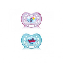 Dodie Pacifier & Soother +18 months, Different Colors, X1