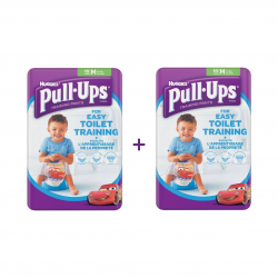 Huggies Pull-Ups Boys Medium 16 Per Pack X2 (Made in Britain)