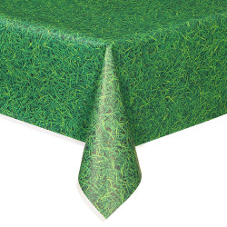 Amscan - International Plastic Grass Table Cover