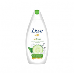 Dove Go Fresh with Cucumber & Green Tea Scent Body Wash 500 ML (Made in Britain).