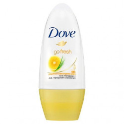 Dove Go Fresh Dry Roll-On Anti-Perspirant Deodorant 50ml (Made in Britain), Grapefruit and Lemon Grass Scent