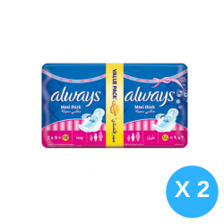 Always Maxi Thick Long Size X4 Packs