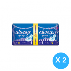 Always Maxi Thick Extra Long X4 Packs