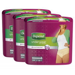 Depend Underwear For Women S/M - L - XL