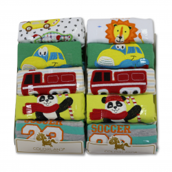 Colorland Baby Boy Long Sleeves 5 Pc Per Pack - 36 M - Assortment