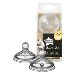 Tommee Tippee Closer to Nature Variflow Flow Teats x2