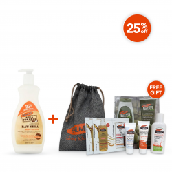 Palmer's Weekend Offer (Palmer's Raw Shea Lotion 400 ml + Free Gift)