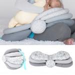 Kakiblin Adjustable Nursing Pillow, Pink
