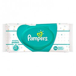 Pampers Sensitive Protect Baby Wipes Pack (56)