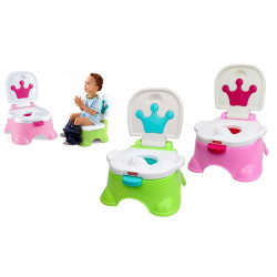 iBaby 3 in 1 Baby Potty Stepstool & Baby Seat Converter