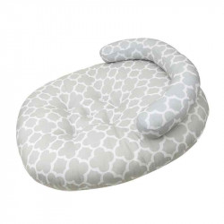 Levelybaby Baby Nursing Pillow, Grey