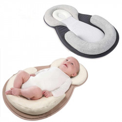 JJ Ovce Cosy Sleep Pillow Pad for Newborns, Assorted Colors