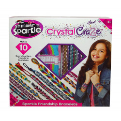 Cra-Z-Art Shimmer N Sparkle Friendship Bracelets
