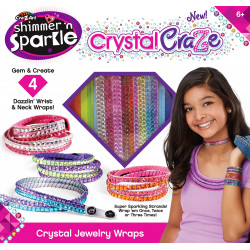 Cra-Z-Art Shimmer N Sparkle Craze Neck & Wrist Wraps