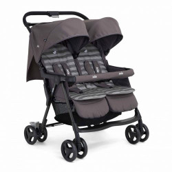 Joie - Aire Twin Stroller Dark Pewter