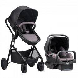 Evenflo Pivot Travel System (Casual Grey)