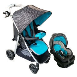 Evenflo Flipside Travel System - Blue