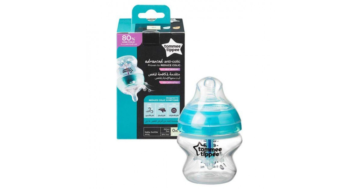 bpa free Tommee Tippee  Advanced Comfort  product range suitable from 0m