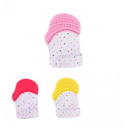 Baby Teether Gloves, only for 1 Hand, Safe Silicone, Assorted Models