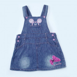 Baby Girl Jeans Dress, yes or no Mickey Mouse, Different Sizes