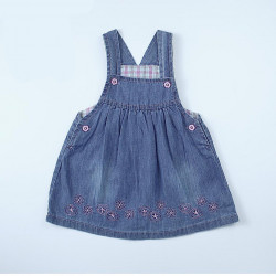 Summer Baby Girls Flowery Jeans Skirts Dress, Different Sizes