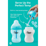 Tommee Tippee Advanced Anti Colic with Heat Sensing Tube X1, 340 ml Medium Flow Bottle
