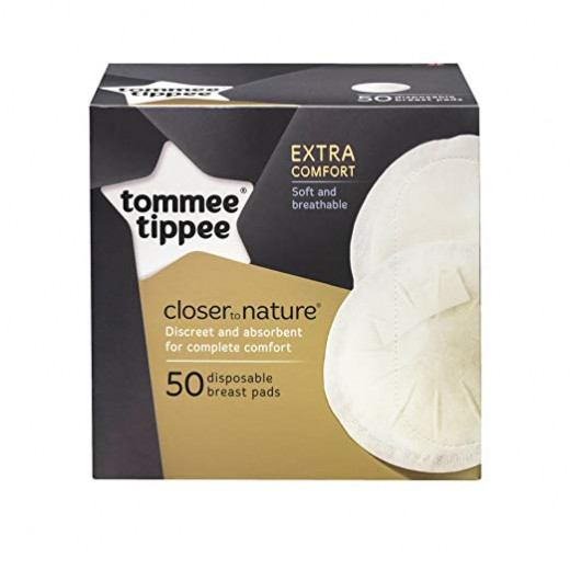Tommee Tippee Disposable Breast Pads, 50 Pieces