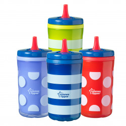 Tommee Tippee Insulated Free Flow Hard Spout Sippy Cup, (Colors May Vary)