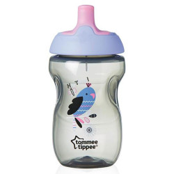 Tommee Tippee Explora Active Sports 12m+ Cup, Purple