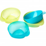 Tommee Tippee Easy Scoop Feeding Bowls x4 (Available in 2 Colors)