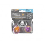 Tommee Tippee Closer To Nature Pure Air Orthadontic Soother, 3-9 months X2