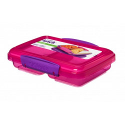 Sistema Small Split Lunch 350ml , Pink