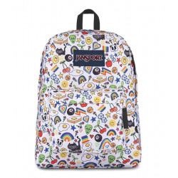 JanSport Big Student Over The Rainbow Color