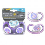 Tommee Tippee Air Style Soother 3-9 months, (2 pieces), Different Colors