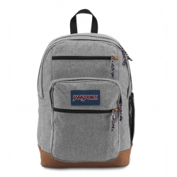 JanSport Cool Student Grey Letterman Poly Color