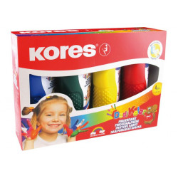 Kores Fingerpaint / Set of 4 Colors