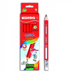 Kores Jumbo Graphite Pencils / Pack of 12