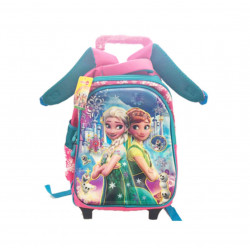 Rolling School Backpack, Different Style from Frozen, 35 cm