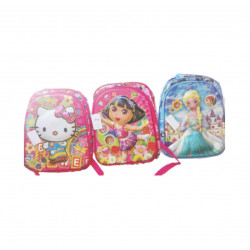 School Backpack, Different Characters for Girls, 35 cm