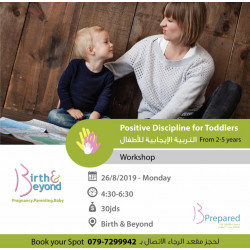 Positive Discipline For Toddlers / August 2019