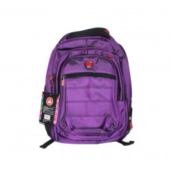 Amigo School Backpack, Purple Color, 45 cm