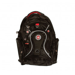 Amigo School Backpack, Different Style of Black, 45 cm