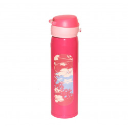 Stainless Steel Water Bottle for Baby Hot Water, 500 ml, Peach