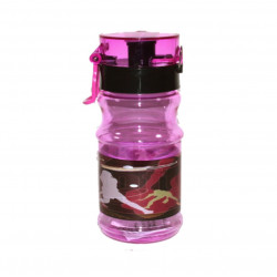 Plastic Water Bottle, Purple, 500 ml