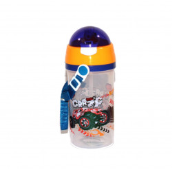 Plastic Water Bottle, Blue, 600 ml