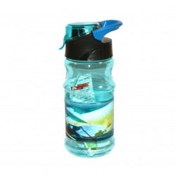 Plastic Water Bottle, Sky Blue, 500 ml