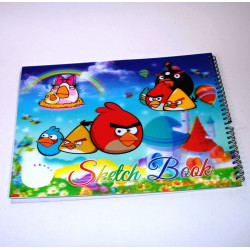 Sketching Book, Angry Birds, 50 paper