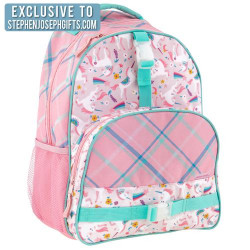 Stephen Joseph All Over Print Backpack Unicorn 40 cm